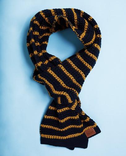 Nachtblauwe sjaal